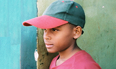 Young Cuban baseball player.